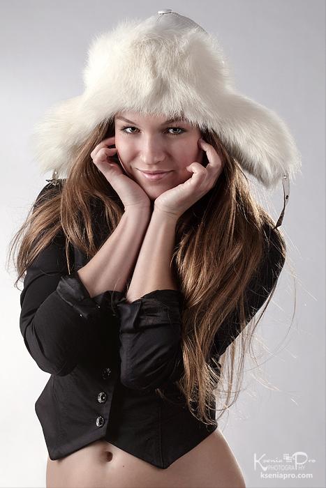 9a266f468 pretty-russian-girl-in-white-fur-winter-hat | Ksenia Pro Photography