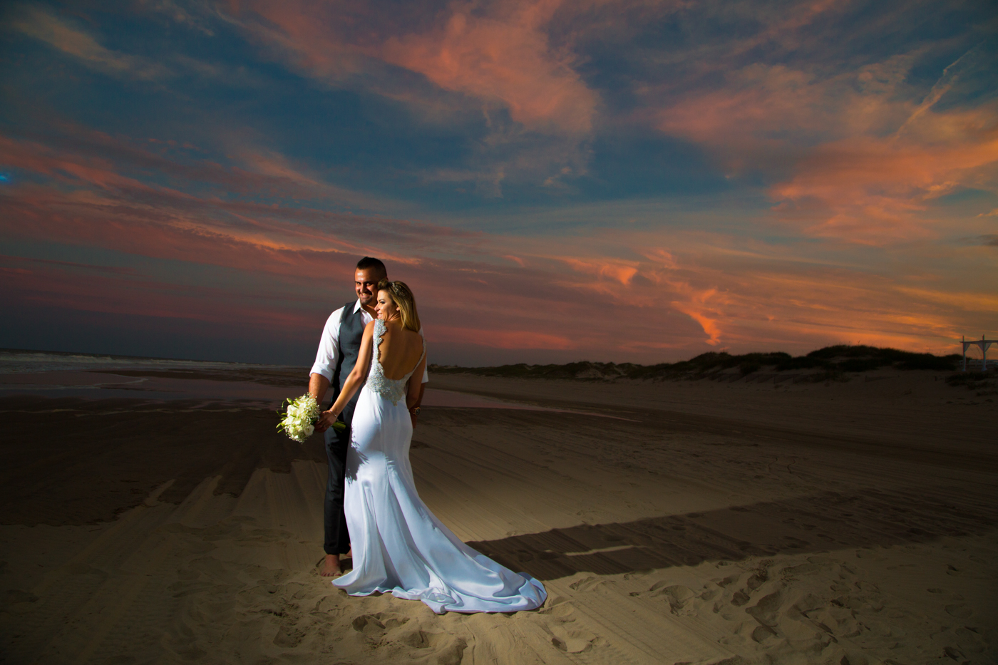 Beautiful Brazilian Beach Wedding North Carolina-Ksenia-Pro-Photography-65