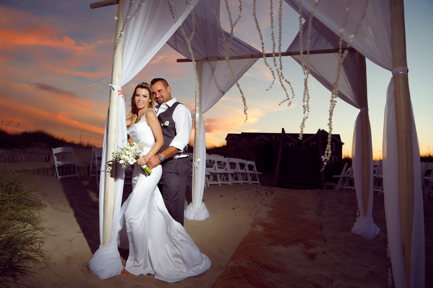 Beautiful Brazilian Beach Wedding North Carolina-Ksenia-Pro-Photography-66